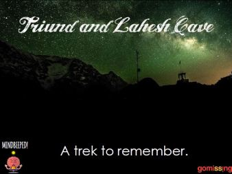 Triund and Lahesh Cave Trek Brochure